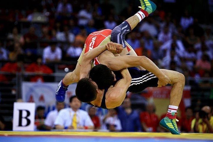 Freestyle wrestling throws